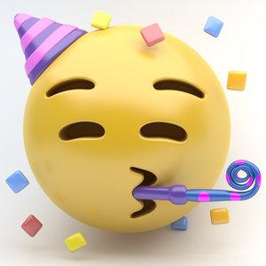 emoji party new 3D
