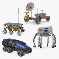 3D space vehicles 2 model