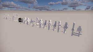3D revit families