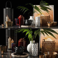 decorative set 07 model