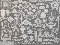 Carved Elements Collection -5 - 58 pieces