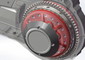 transmission gear 3D model