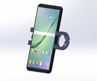 3D support smartphones mounted mountain bike