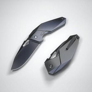 fang knife 3D
