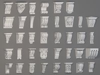 Corbels Collection -2 - 38 pieces