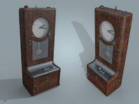 Vintage Time Recorder