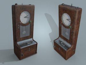 clock time recorder model