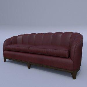3D george smith almack sofa model