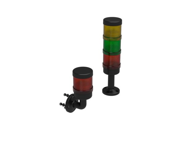 3D model signal tower light