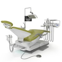 3D dental chair adec 500