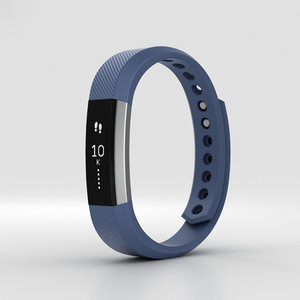 fitbit alta blue 3D model