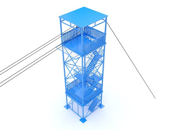3D line model