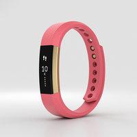 fitbit alta pink 3D model
