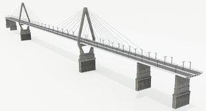 architecture bridge 3D
