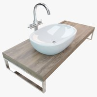 Bathroom Plate Washbasin 002