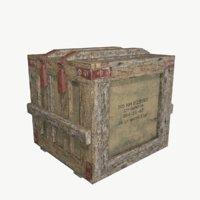 box military 3D