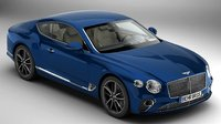 3D bentley continental gt 2018