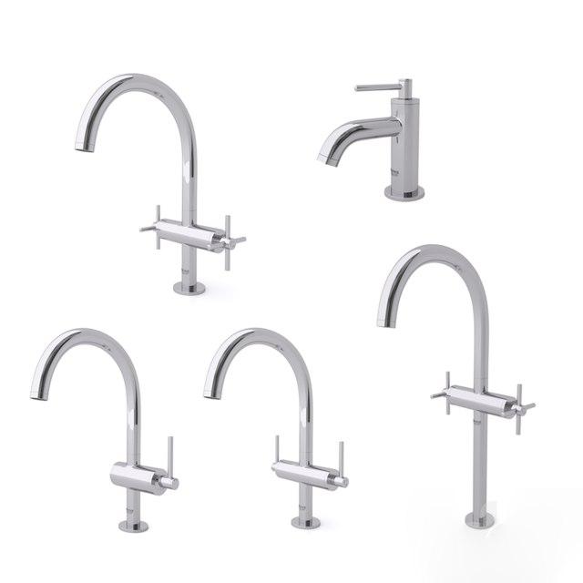faucets 1 3D model