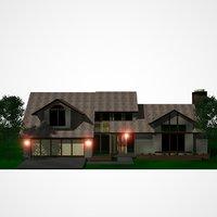 3D house build home