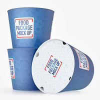fast food bucket 3D