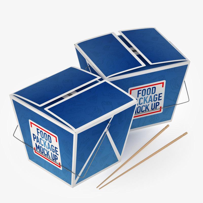 chinese box 3D model