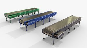 3D conveyor belt pack