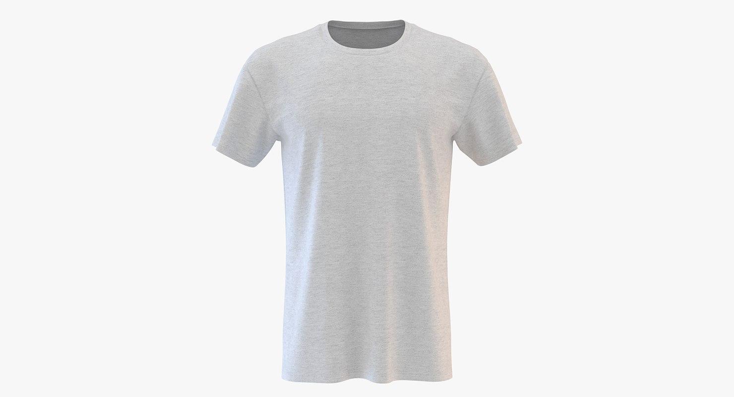 men women neck t-shirt 3D