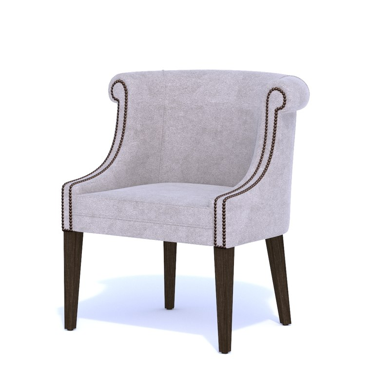 wychwood armchair chair bar 3D