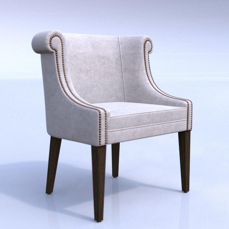 3D wychwood armchair corona chair