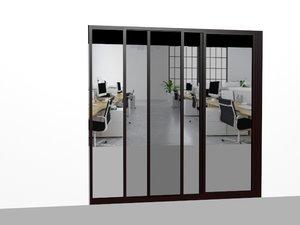 glassdoor 3D model