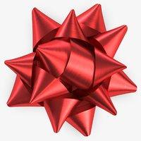 ribbon bow 3 3D model