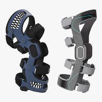 knee braces 3D