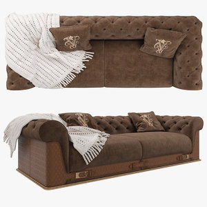 3D visionnaire chester laurence sofa model