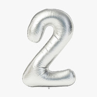 Foil Balloon - Digit Two