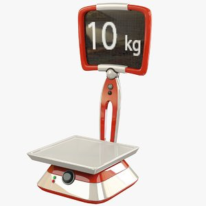 weigher scale 3D