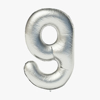 Foil Balloon - Digit Nine