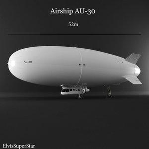 3D airship au30 air