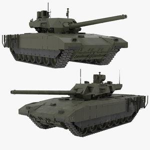t-14 armata green 2 model