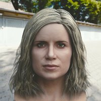 3D kim dickens madison clark model