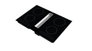 3D model luxury oven cooking