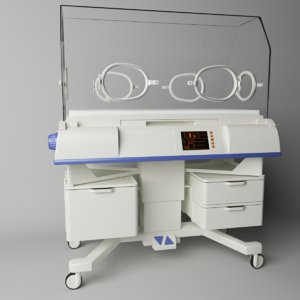 3D neonatal intensive care model
