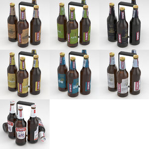 bottle beer 3D model