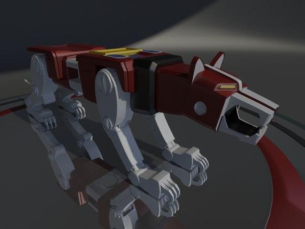 red lion voltron model