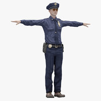Male 04 (Rigged T-Pose) Lowpoly