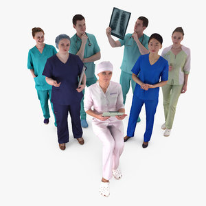 3D medical human body