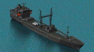 3D hmnzs endeavour a-11 model
