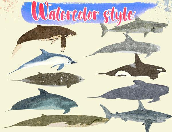 big fish illustration - 3D