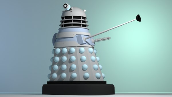 dalek invasion earth model