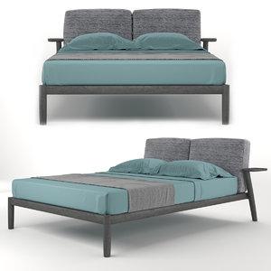 pianca dioniso bed 3D model
