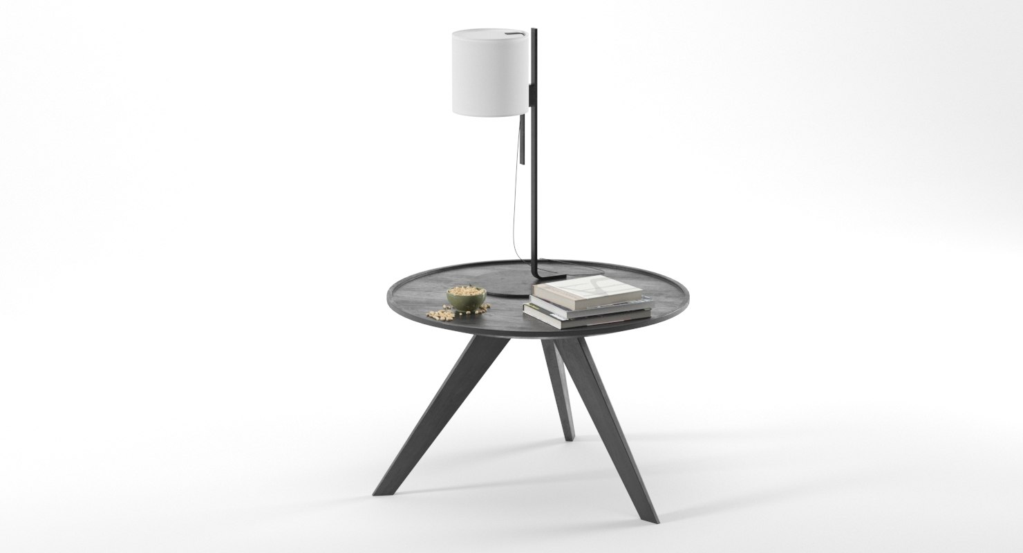realistic table accessories 3D